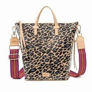 Consuela Blue Jag Legacy Hobo Bag $195